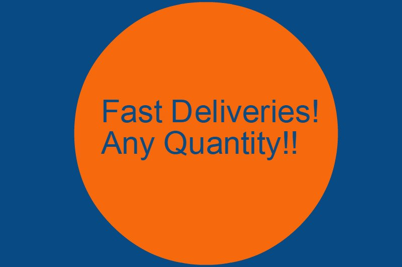 fast deliveries