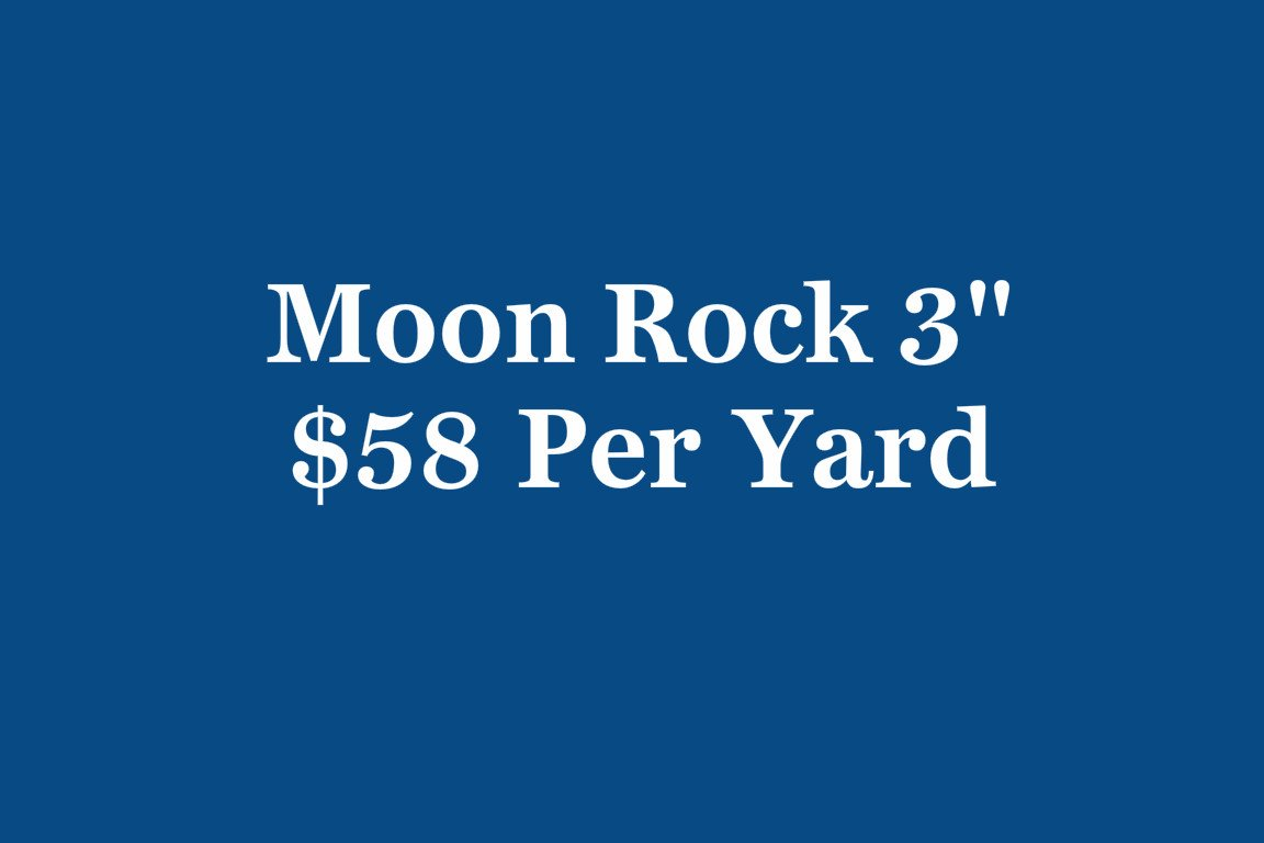 moon rock 3inch