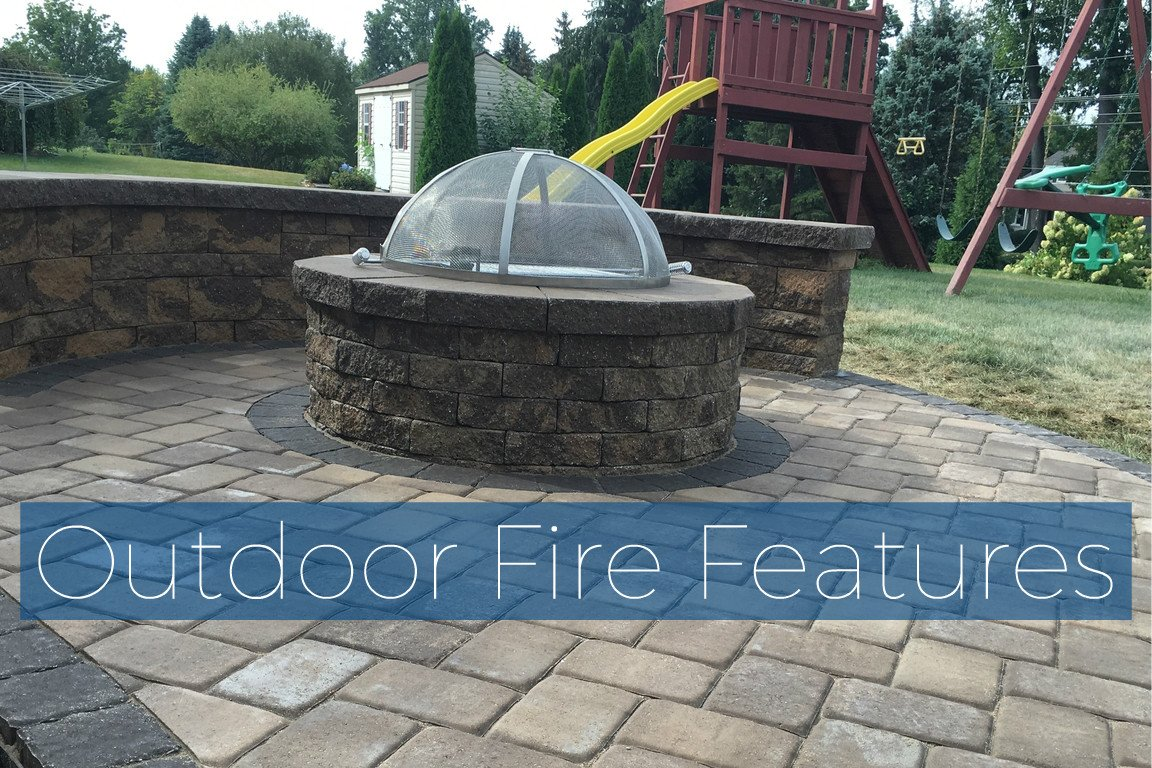 outdoor fire features mobile