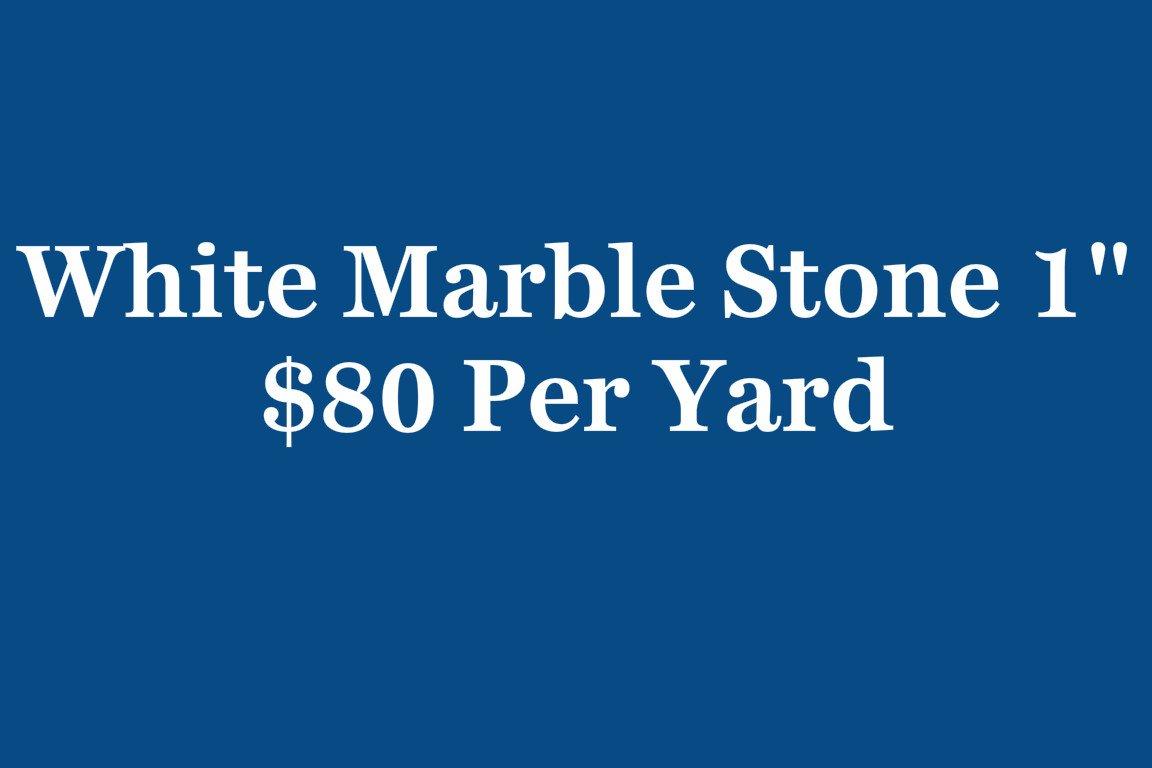 white marble text